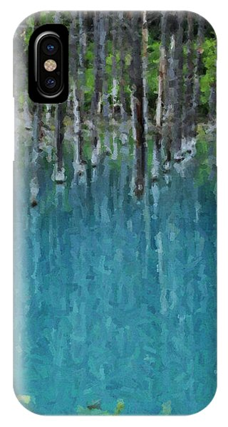 Liquid Forest IPhone Case