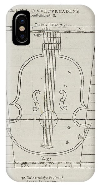 Constellations iPhone Case - Lira Star Constellation by British Library