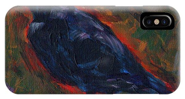 Lisa's Blackbird Phone Case by Susan Moore