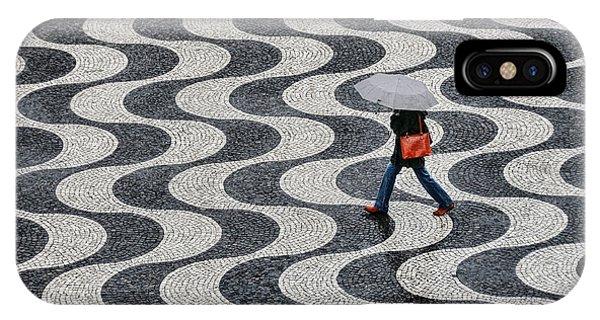 Umbrella iPhone Case - Lisboa by Renate Reichert