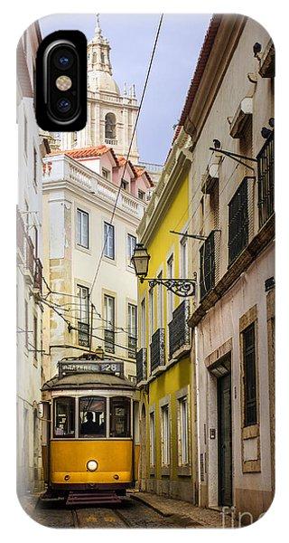 Trolley Car iPhone Case - Lisbon Tram by Carlos Caetano
