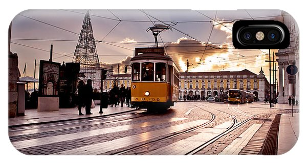 Lisbon Light IPhone Case