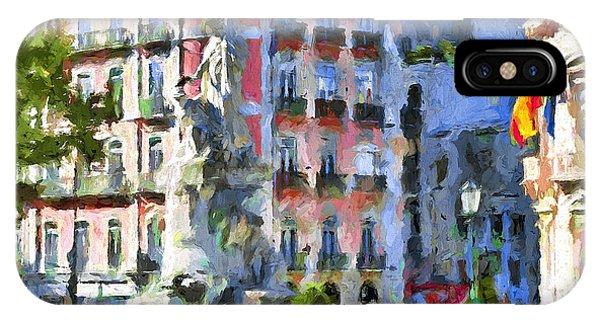 Lisbon Streets Phone Case by Yury Malkov