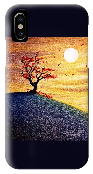 Little Autumn Tree IPhone Case