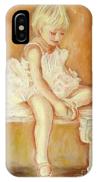 Little Ballerina IPhone Case
