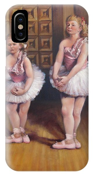Little Ballerinas  IPhone Case