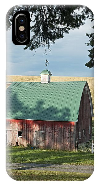 Little Barn On The Palouse IPhone Case