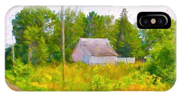 Little Barn Redone In Minnesota IPhone Case