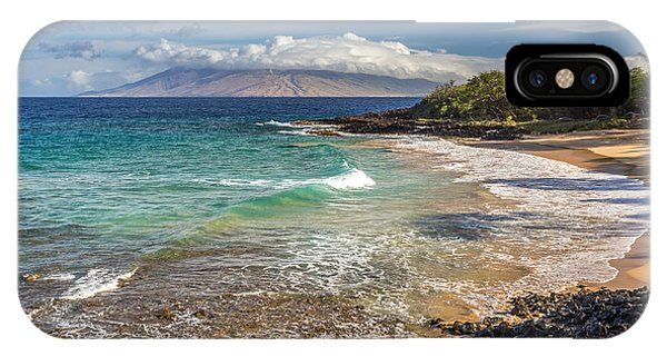IPhone Case featuring the photograph Little Beach Maui Sunrise by Pierre Leclerc Photography