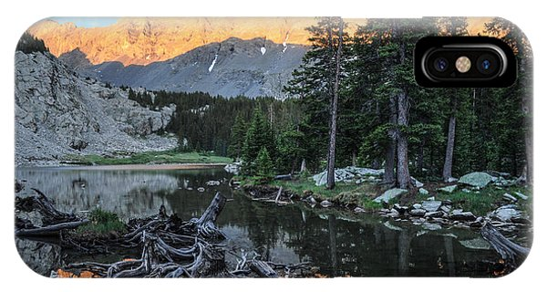 Fourteener iPhone Case - Little Bear Peak And Lake Como by Aaron Spong