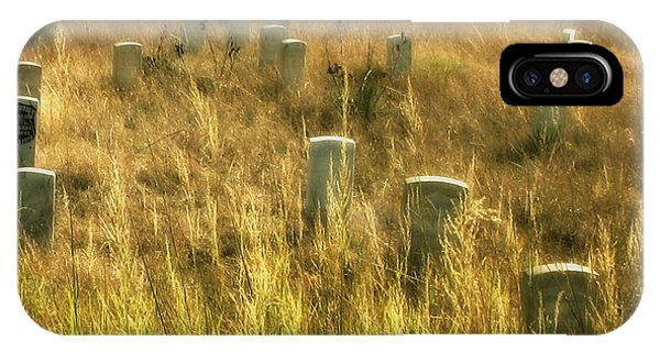 Little Big Horn Gravesite IPhone Case