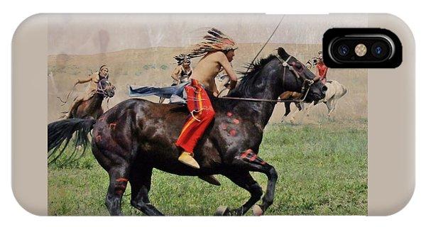 Little Bighorn Reenactment 1 IPhone Case
