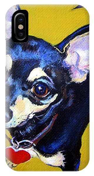 Little Bitty Chihuahua IPhone Case