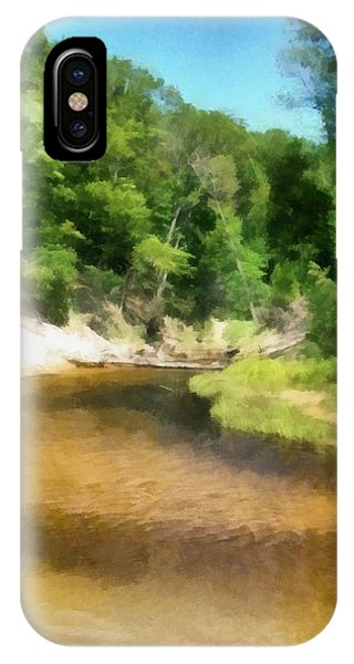 Little Black Creek - Hoffmaster State Park IPhone Case