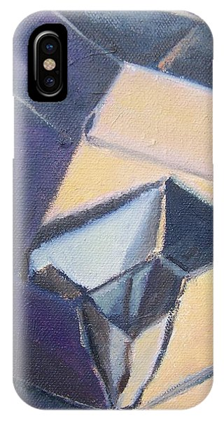 Little Boxes-yellow And Violet IPhone Case