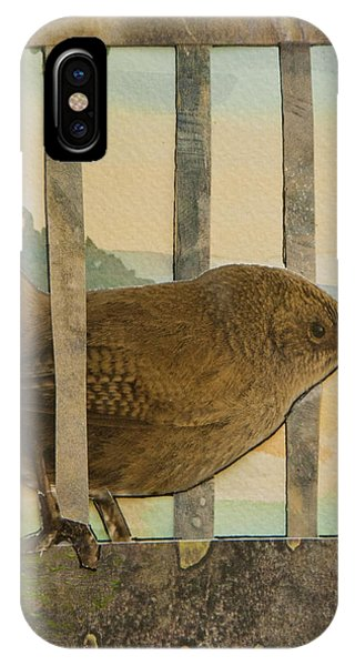Little Brown Bird IPhone Case