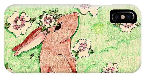 Little Bunny Big Dreams IPhone Case