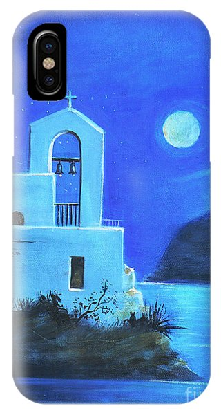 Little Church By The Sea IPhone Case