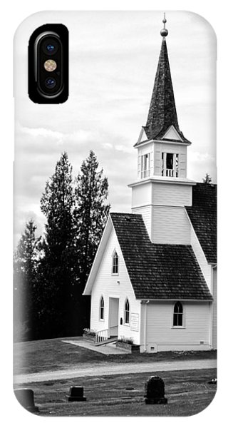 Little Church On The Hill Phone Case by Marv Russell