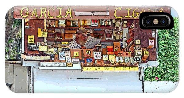 Little Cigar Shop Key West IPhone Case