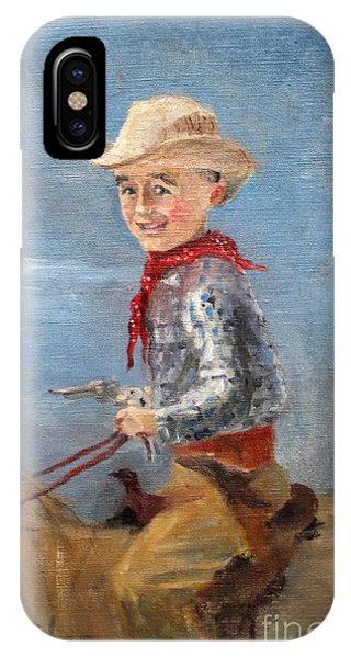 Little Cowboy - 1957 IPhone Case