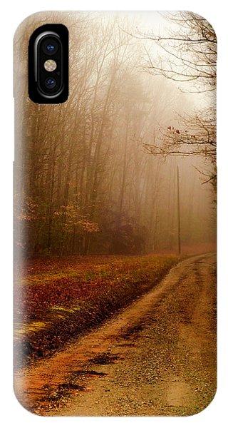 Little Dirt Road IPhone Case