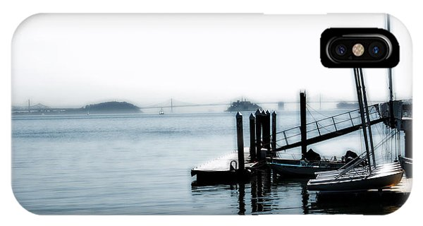 Little Dock On The Bay IPhone Case