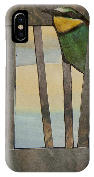 Little Green Bird IPhone Case
