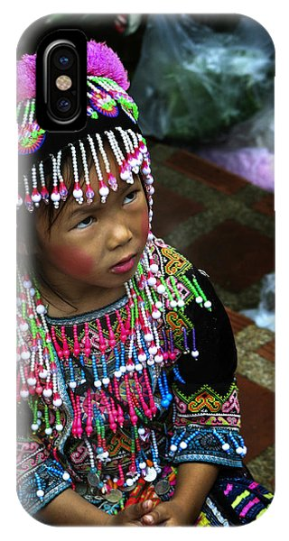 Little Hill Tribe Girl IPhone Case