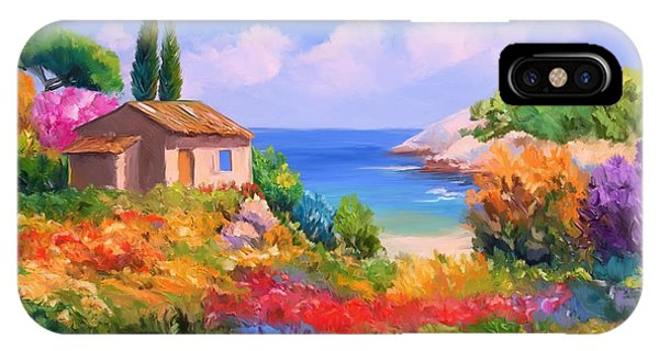 Little House By The Sea IPhone Case