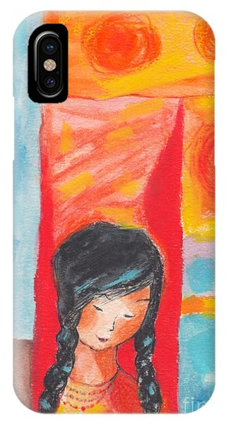 Little Indian Girl  IPhone Case