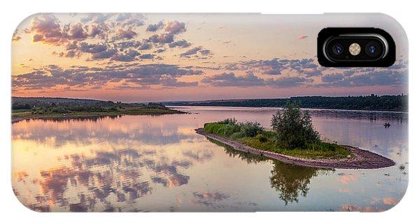 Little Island On Sunset IPhone Case