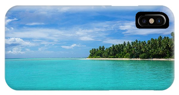 Micronesia iPhone Case - Little Islet In The Ant Atoll, Pohnpei by Michael Runkel