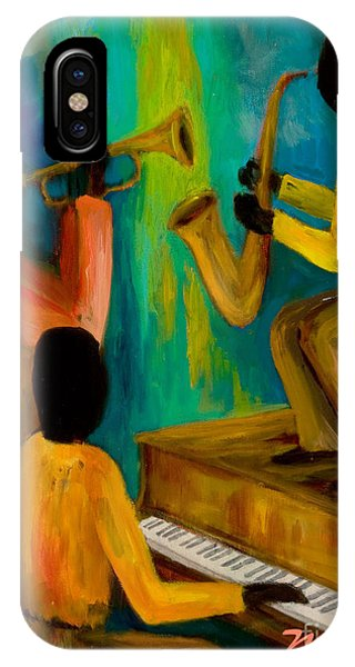Little Jazz Trio I IPhone Case