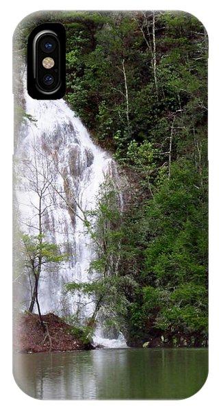 Little Laurel Branch Falls IPhone Case