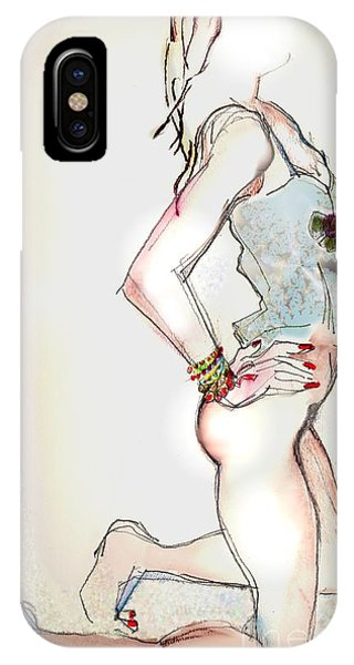 Little Miss Sunshine - Lingerie IPhone Case