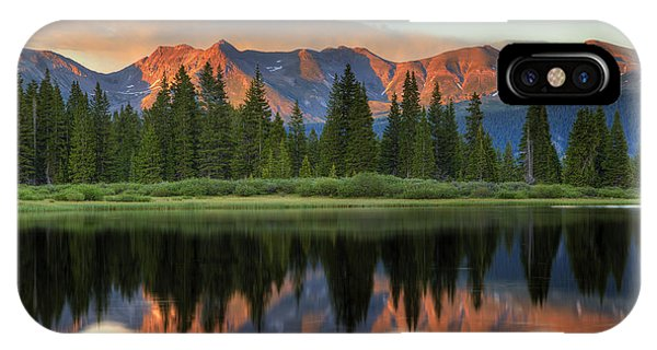 Little Molas Lake Sunset 2 IPhone Case