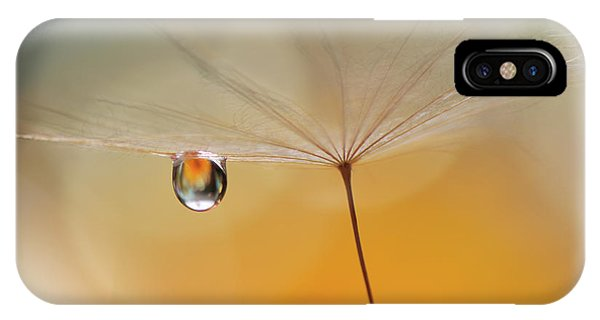 Water Droplets iPhone Case - Little Night Music... by Juliana Nan