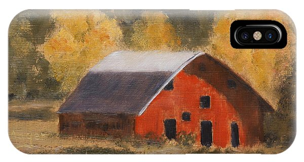 Little Old Hay Barn IPhone Case