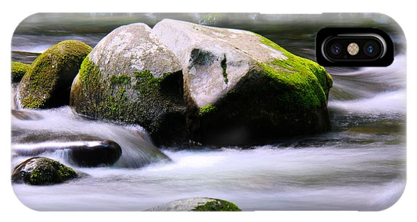 Little Piegon River Gatlinburg Tennessee IPhone Case