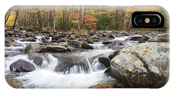 Little Pigeon River Bridge Panorama IPhone Case