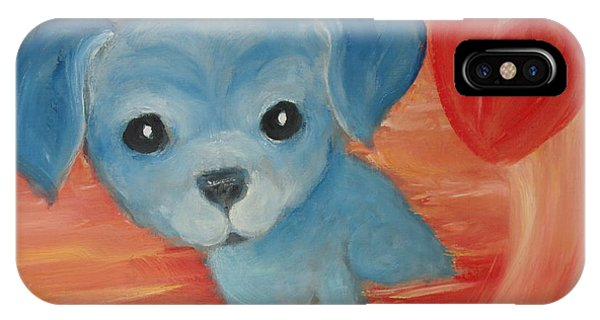 Little Pup Big Heart IPhone Case