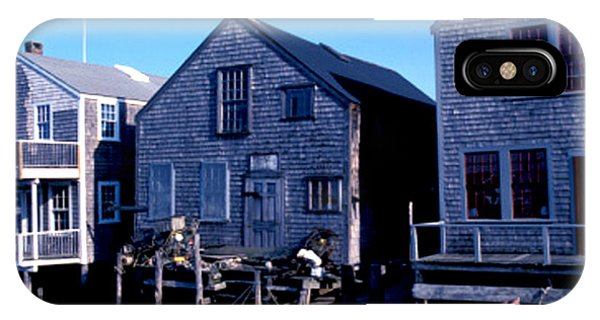 IPhone Case featuring the photograph Little Red Boat On Nantucket by Joy McKenzie