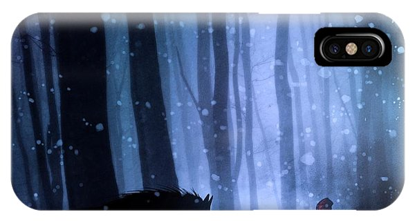 Little Red Riding Hood Phone Case by Sebastien Del Grosso