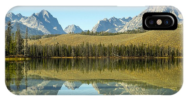 Little Redfish Lake IPhone Case