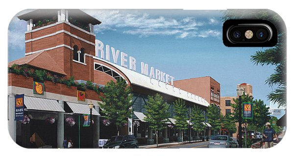 Little Rock River Market IPhone Case