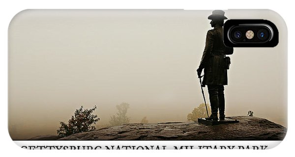 Rural America iPhone Case - Little Round Top -- Poster by Stephen Stookey