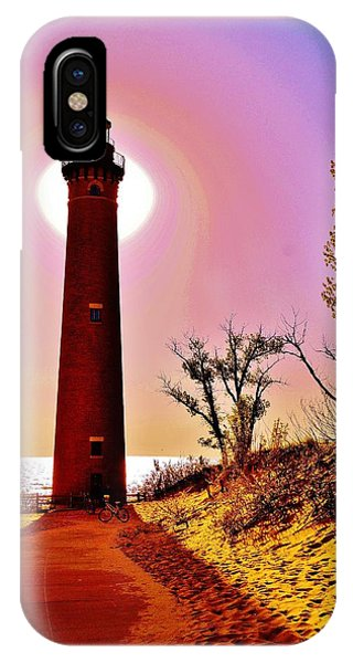 Little Sable Point Lighthouse IPhone Case