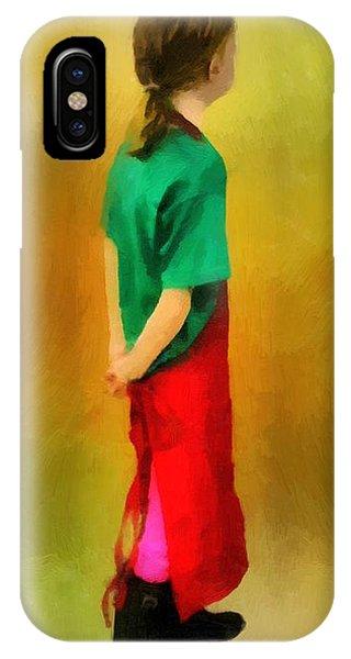 Little Shopgirl IPhone Case
