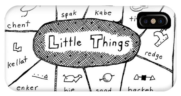 'little Things' IPhone Case
